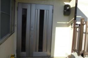 春日井市 玄関ドアの取替え工事リフォーム