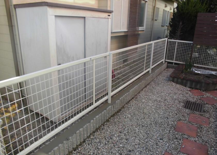 春日井市 フェンス取替リフォーム