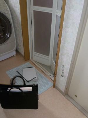 ドア枠交換工事