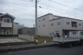 新築工事 進捗(^-^)